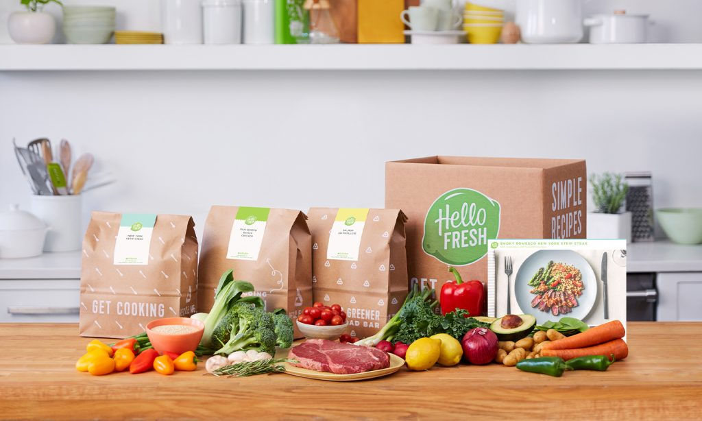 Try HelloFresh meal kit delivery service